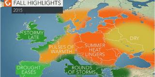 Не чека пеколно жешка есен: Жештините и поплавите ќе траат до ноември