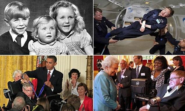 Извонредниот живот на Стивен Хокинг  низ слики